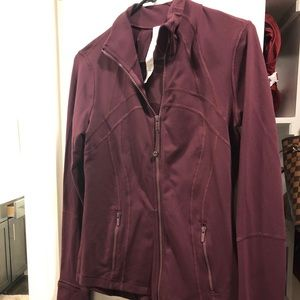 Lululemon Burgundy Define Jacket
